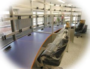 Montaż pulpitu Control Center